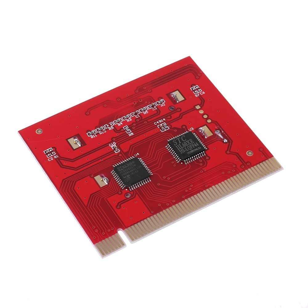 BGEKTOTH para ordenador portátil de sobremesa pantalla LCD PCI Analizador de ordenador placa base de diagnóstico probador de tarjetas de depuración