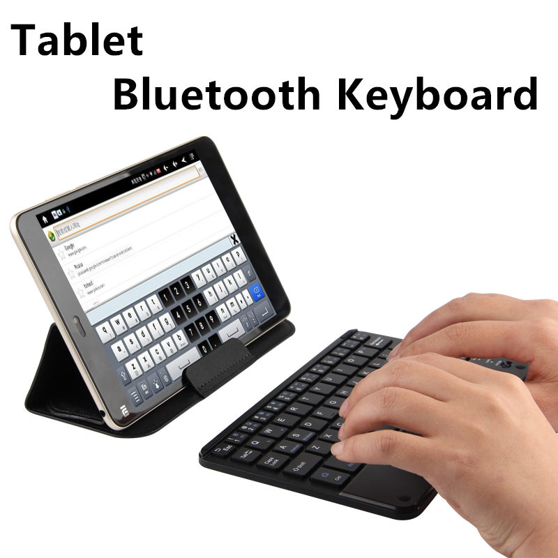 Bluetooth Keyboard For ONDA V80 SE V80 Plus Tablet PC For onda V891w CH V820W Wireless keyboard Android Windows Touch Pad Case dhl shipping original keyboard for onda obook10 se v3 version for obook20 plus suction keyboard for obook 20 plus