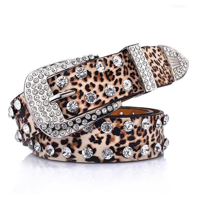 get cheap wide leopard belt aliexpress