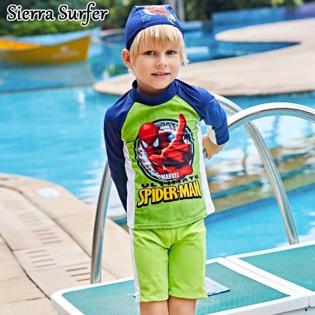 1e8f94f254 Bikini Kids Swimwear Boy Boys Swimsuit For Children Baby Long Sleeve Cute  Suntan 5837 Plavky Biquini