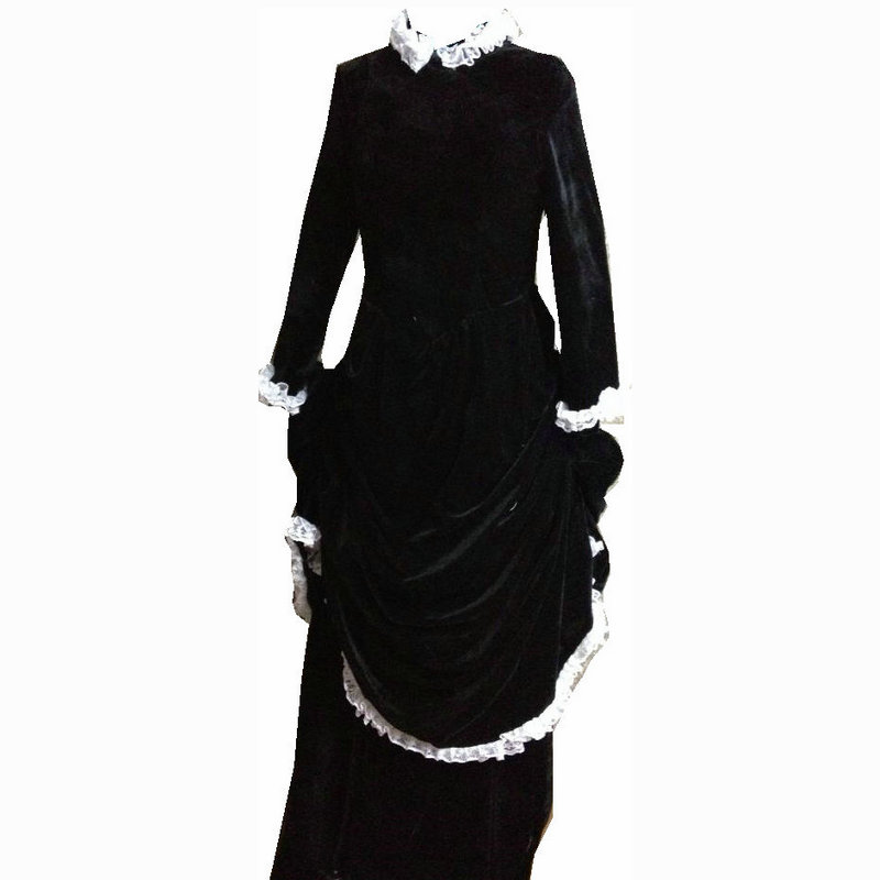 On sale D-112 Victorian Gothic Civil War Southern Belle Ball Gown Dress  Halloween 45313a8c7b36
