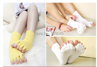 Warm comfortable cotton bamboo fiber girl women's socks ankle low female invisible color girl boy hosier1pair=2pcs WS20