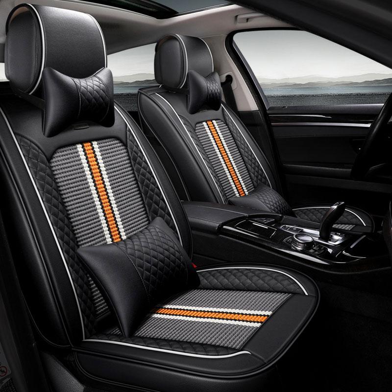car seat cover auto seat protector mat for cadillac cts xts xt5 ats sls ct5 ct6 escalade voyager Suzuki Vitara car accessories