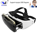 VR EYES Virtual Reality 3D Glasses Helmet VR BOX Headset Google Cardboard 3D Video Games For 3.5-6.0 inch iOS Android Smartphone
