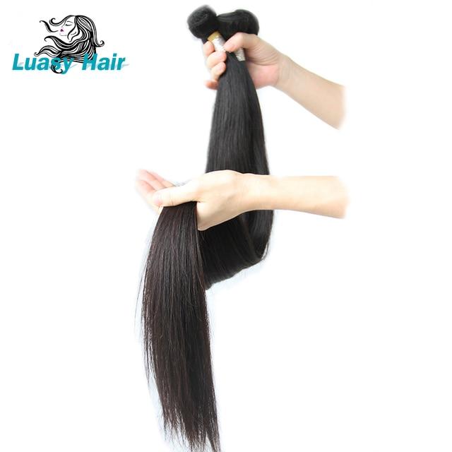 100 Human Brazilian Hair Weave Bundles 30 32 34 36 38 Inch 40 Inch
