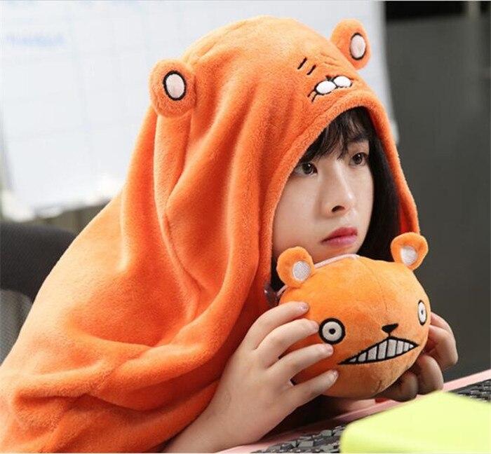 Himouto! Umaru-chan Cloak Anime Umaru Chan Doma Umaru Cosplay Costume Flannels Cloaks Blanket Soft Cap Hoodie A407