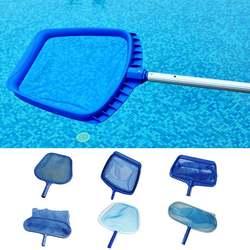 Бассейн сетка для очистки тонкая сетка глубокий мешок лист Ловец очиститель алюминиевая рама бассейны Сачок для чистки для джакузи спа