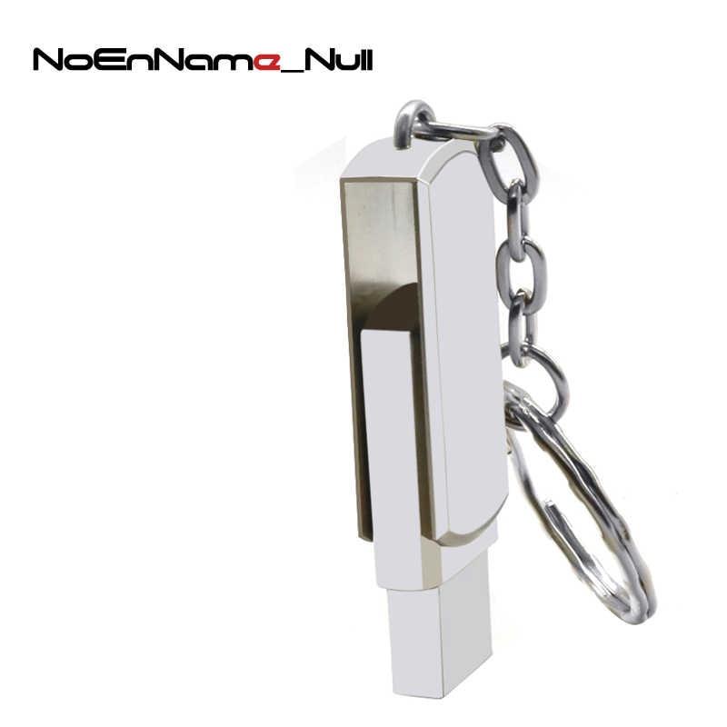 Rzeczywista pojemność dysk USB ze stali nierdzewnej obrotowy długopis napęd 4GB 8GB 16GB 32GB 64GB 128GB Pendrive USB 2.0 pendrive