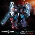 WeiJiang Wei Jiang WJ Transformación Versión Aleación de Gigante War Robot TF 5en1 PATRONA de Anime Juguete Deformable