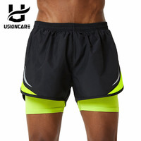 Uskincare Sports Shorts Summer Loose Short Pants Breathable Quick Dry Fitness Gym Homme Shorts For Men