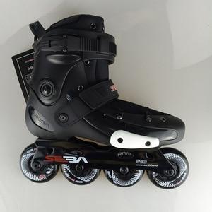 Image 2 - Japy סקייט 100% מקורי SEBA FRMX מקצועי סלאלום Inline גלגיליות מבוגרים נעלי החלקה על רולר הזזה משלוח החלקה Patines