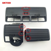 SKTOO Black dashboard outlet center console panel car air conditioning vent vent old for Volkswagen Bora Golf 4