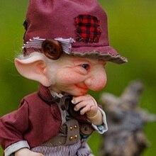DreamHighStudio Nolan 1/8 BJD Doll With Secretdoll Unisex Body Resin Figure YoSD Baby Toys