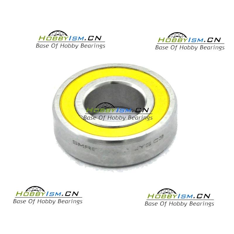 15x28 x7 mm Hybrid Ceramic Yellow BIKE BEARING  S6902  ABEC-5 NYLON CAGE 61902