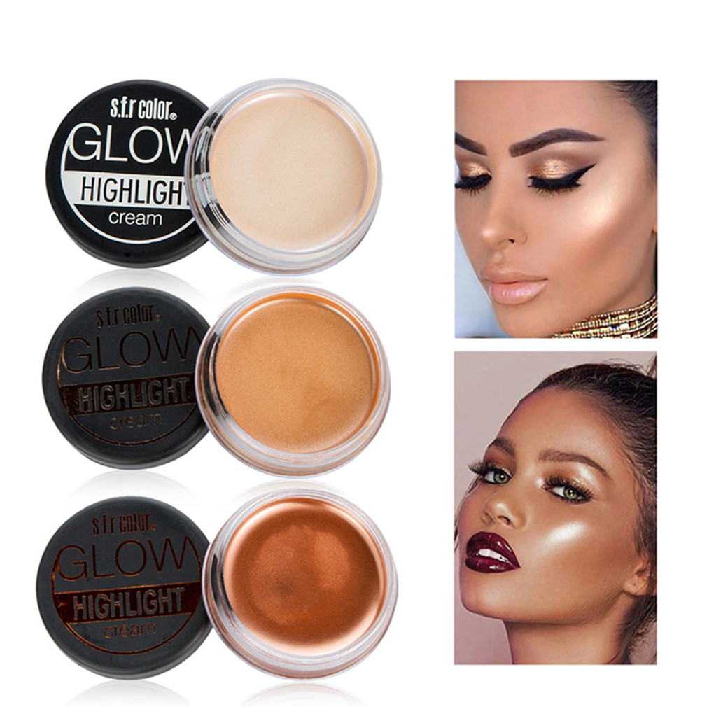 Body 12 Colors Shimmer Contour Powder Highlighter Bronzer High Light Cosmetic Make Up Base Maquiagem Foundation Highlighter Bronzer