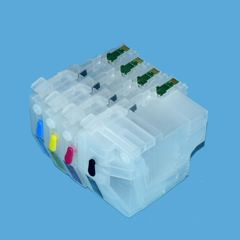 LC3119 Refillable Ink Cartridge with Chip Show Ink Level for Brother J6580 J6980 MFC-J6580CDW MFC-J6980CDW Printer