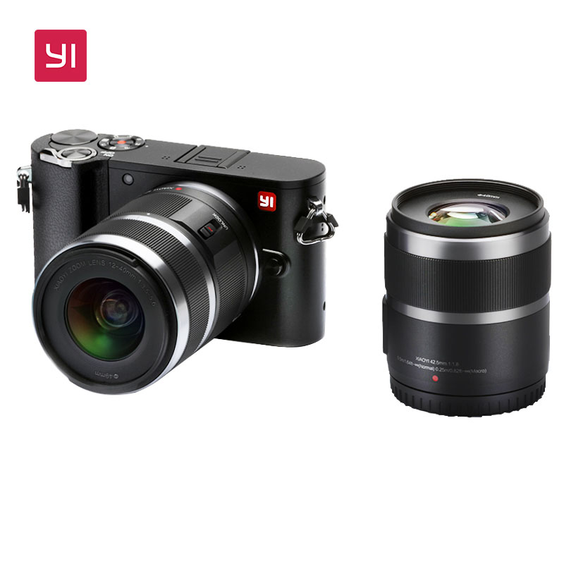 bilder für YI M1 Mirrorless Digitalkamera International Version Mit YI 12-40mm F3.5-5.6 Objektiv LCDRAW LCD 20MP Video Recorder 720RGB H.264