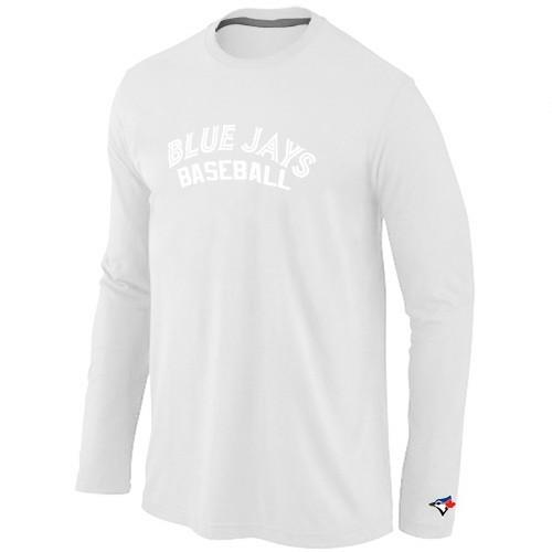 Toronto Blue Jays Long Sleeve T-Shirt White