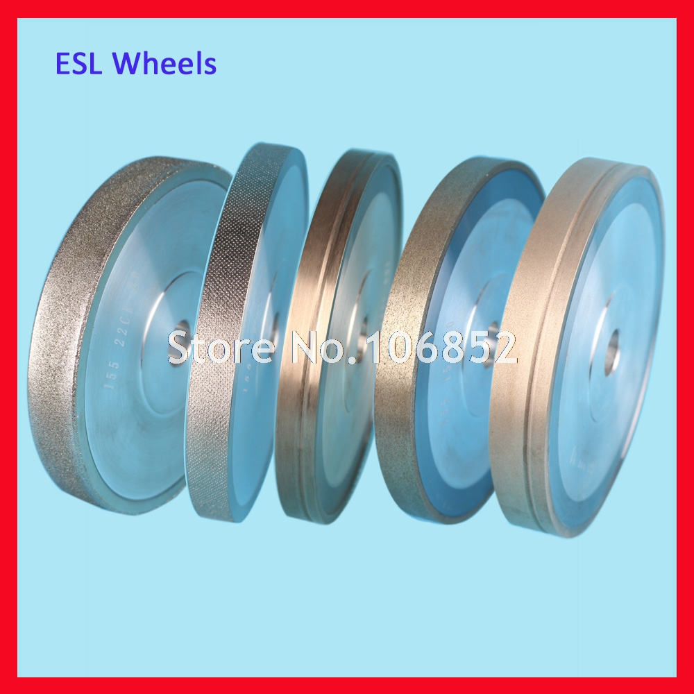 ESL Diamond Grinding wheel for auto lens edger Glass CR39 Polycarbonate Rough Fine Cutting Wheel
