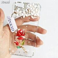 For IPhone 4 4s SE 5C 6 6plus 6s 7 7plus 3D Luxury Rhinestone Bling Crystal