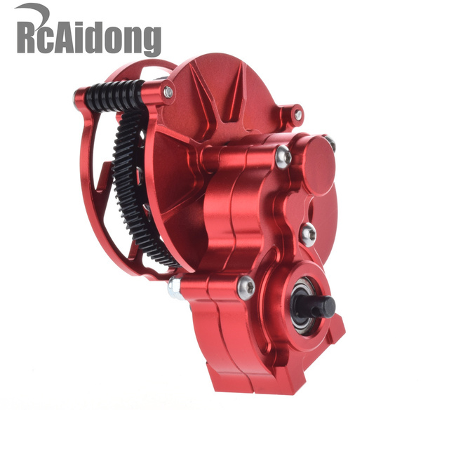 Transmission Case Center Gearbox for 1/10 RC Crawlers Cars Axial SCX-10 AX10 rot