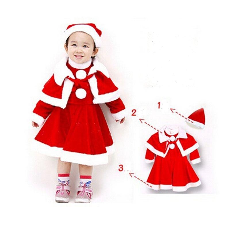 Otoño Invierno Vestido De La Muchacha Del Bebé Trajes De