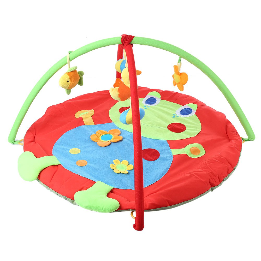 Activity & Gear Baby Frog Game Playmat Newborn Baby Gym Activity Playmat Crawling Game Mat Cartoon Floor Play Mat With Pillow Plush Toys Baby Gyms & Playmats