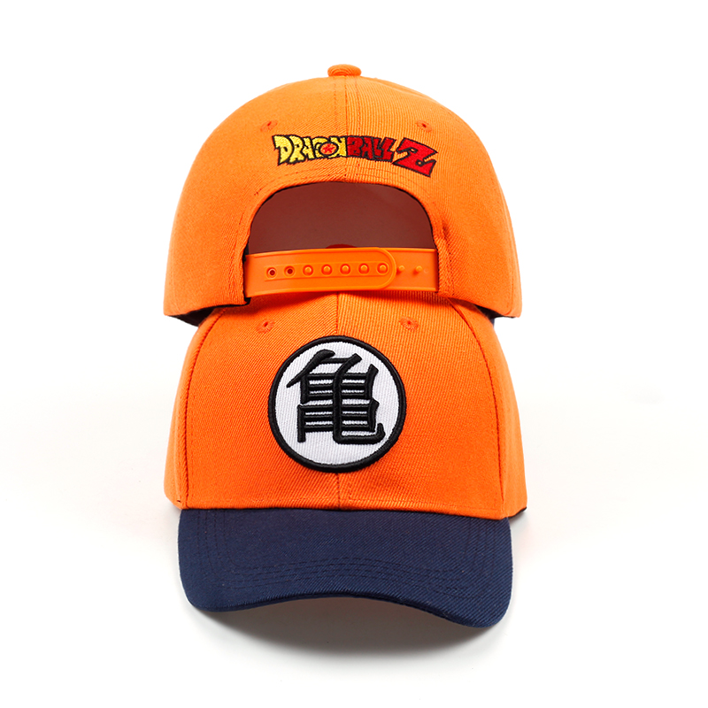 HTB18QWCsoR1BeNjy0Fmq6z0wVXaV - new High Quality Cotton Dragon Ball Z Goku Baseball Caps Hats For Men Women Anime Dragonball Adjustable HipHop Snapback cap