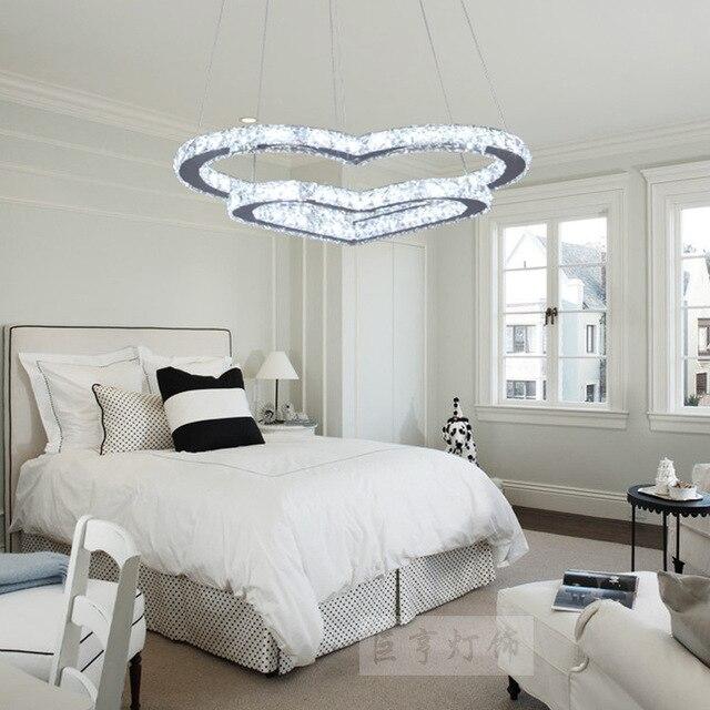 Lustre de cristal moderna e simples refei es lustres for Lampadario camera da letto moderna