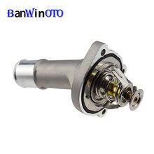 Алюминиевый корпус термостата охлаждающей жидкости для двигателя LF70-15-170 LF7015170 для Ford Focus 2012- для Mazda 3/5 BANWINOTO
