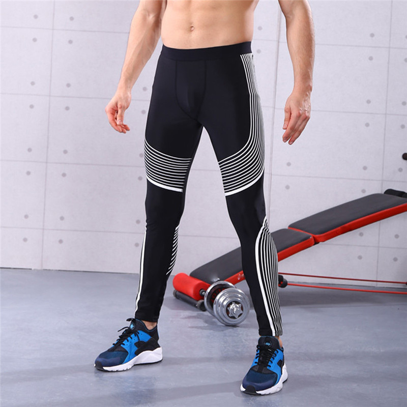 Man Bike Bicycle Cycling Pants Slim Workout Leggings Fitness Sports Gym Running Jogging Athletic Pants Sweatpants A1