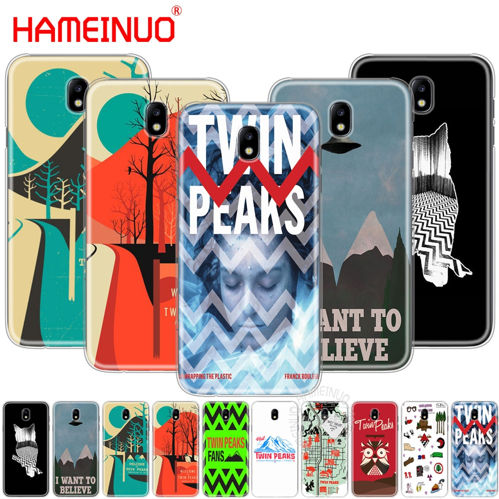 HAMEINUO welocme to the twin peaks cover phone case for Samsung Galaxy J3 J5 J7 2017 J527 J727 J327 J330 J530 J730 PRO
