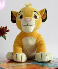 Hot! High Quality Cute 1pcs Sitting High 26cm Simba The Lion King Plush Toy Simba Soft Stuffed Animals doll For Children Gifts