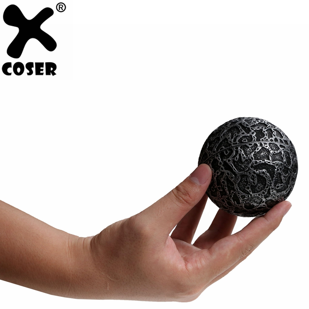 XCOSER Guardians of the Galaxy Orb Replica Props The Infinity Stones Orb Power Stone Movie Cosplay Costume Props For Halloween