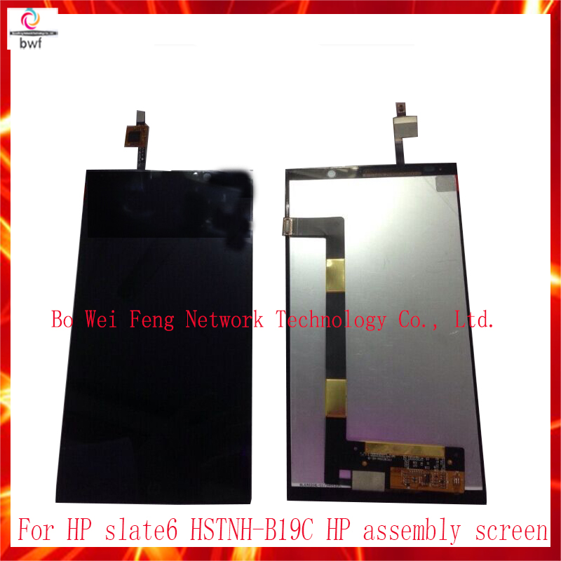 High Quality LCD Display Touch Screen Digitizer Assembly For HP slate 6 VoiceTab Slate6 + Tools Replacement Free Shipping high quality 5 3 for lenovo s898 s898t lcd display touch screen digitizer assembly replacement tools free shipping