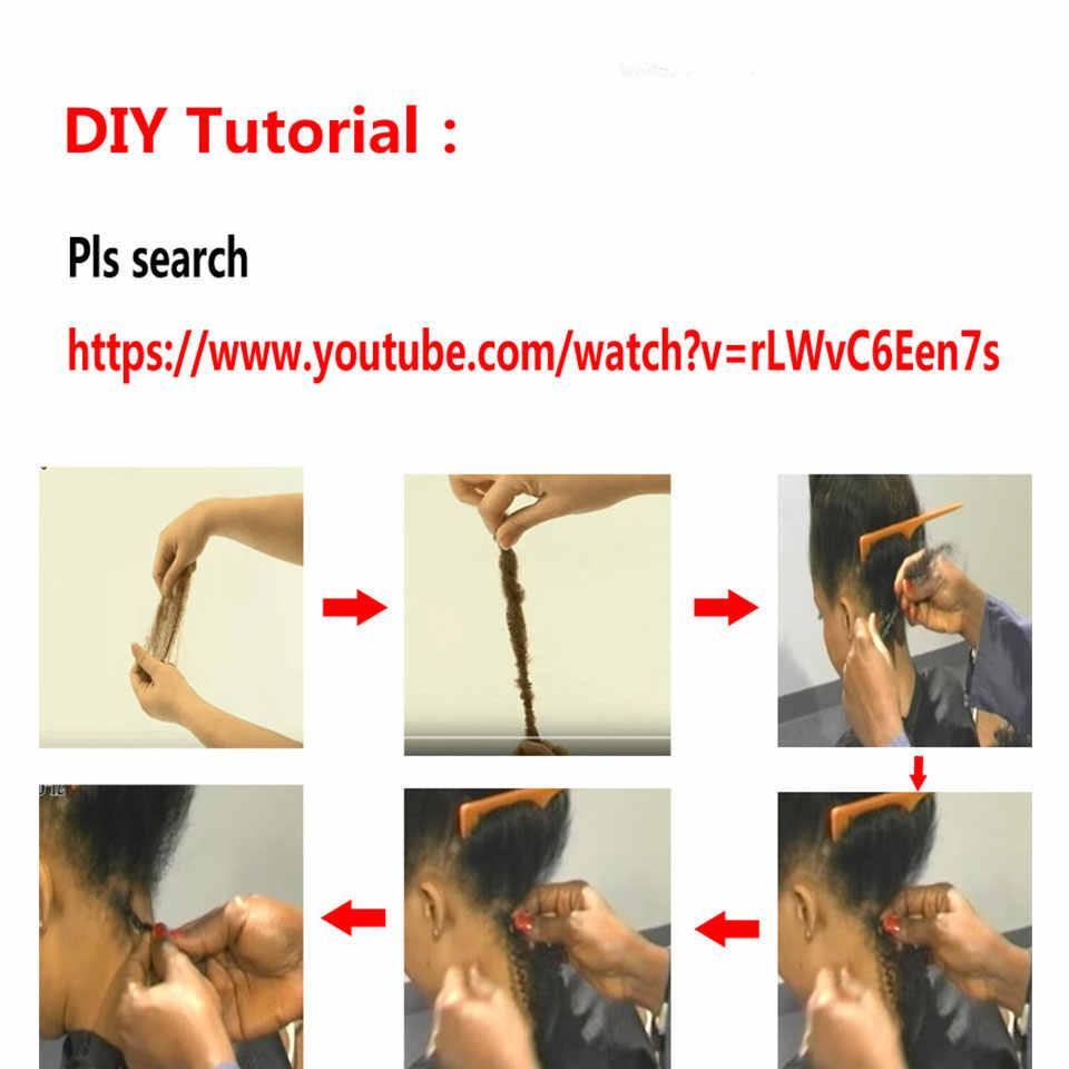 Styleicon cabelo humano trança a granel 1 3 4 pacotes remy peruano afro kinky bulk 50 gramas/pçs #2 #4 #27 #30 # 99j crochê para trança