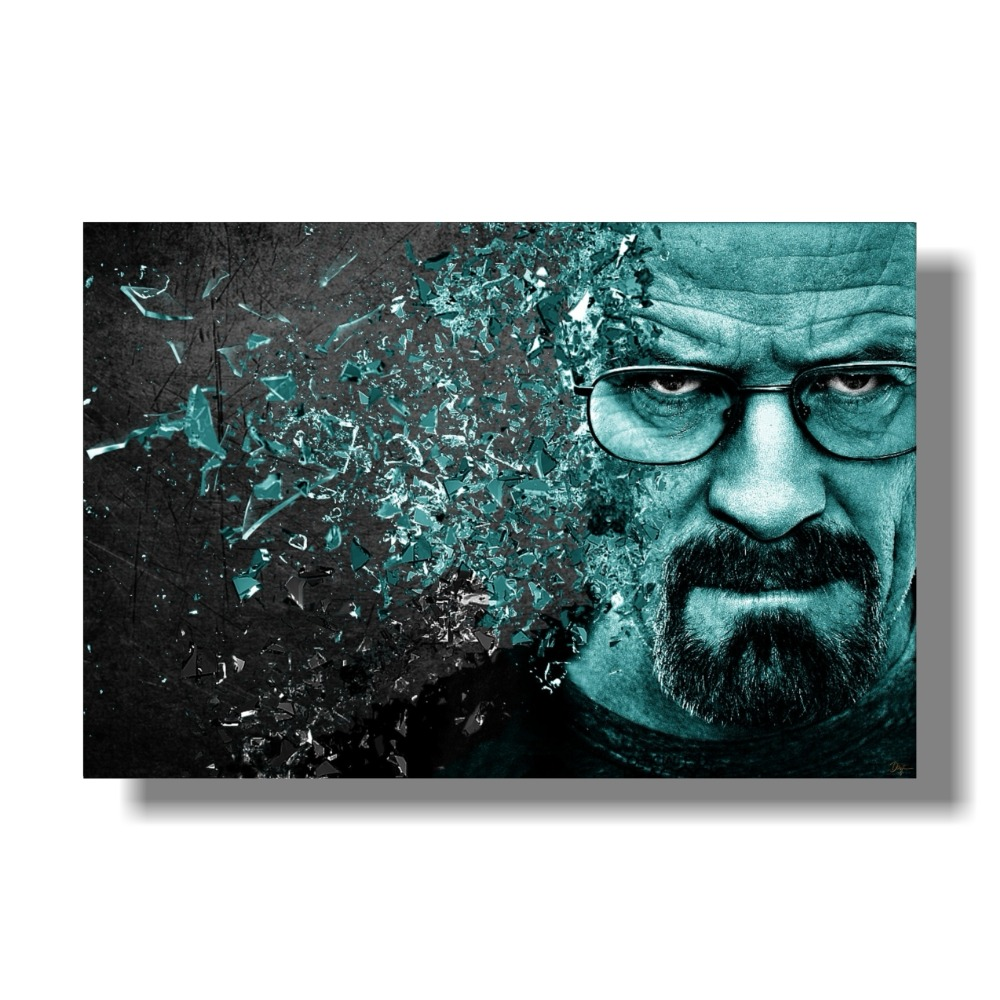 Free Delivery Breaking Bad Poster Home Decor Print Decoration 80x120 Cm