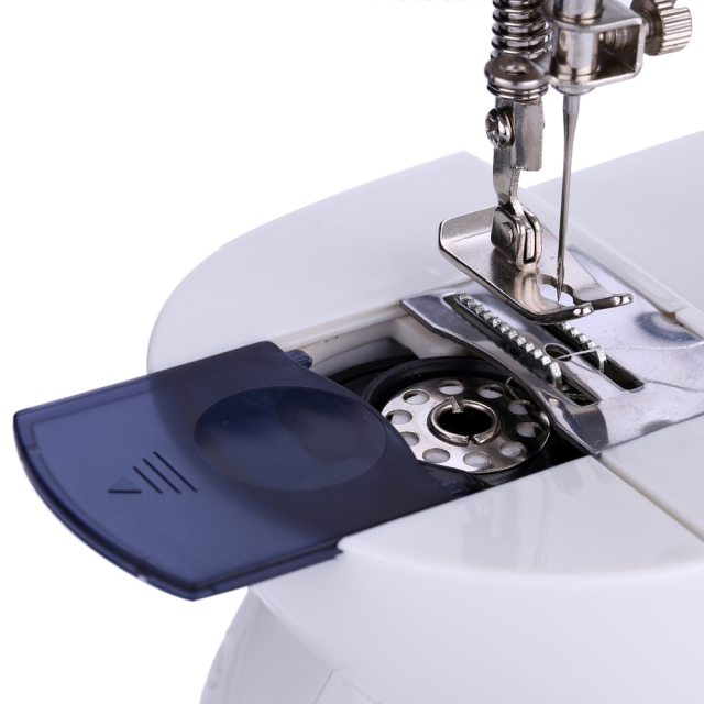 Mini Handheld sewing machines Dual Speed Double Thread Multifunction EU Electric Automatic Tread Rewind Sewing Machine Gift