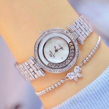 New Hot Sale Watch List Movable Rhinestone Female Fashion & Casual  Chronograph Bracelet Clasp