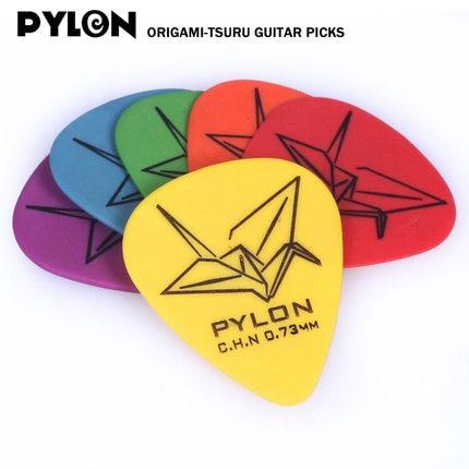 Pylon Guitar Pylon Origami Electric Acoustic Pick High Quality Beautiful Design 送料 無料