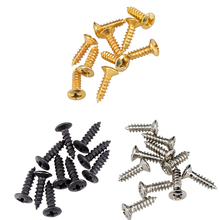 50PCS Pickguard Scratch Plate Mounting Screws for Electric Guitar/ Bass Parts Accessories цены онлайн