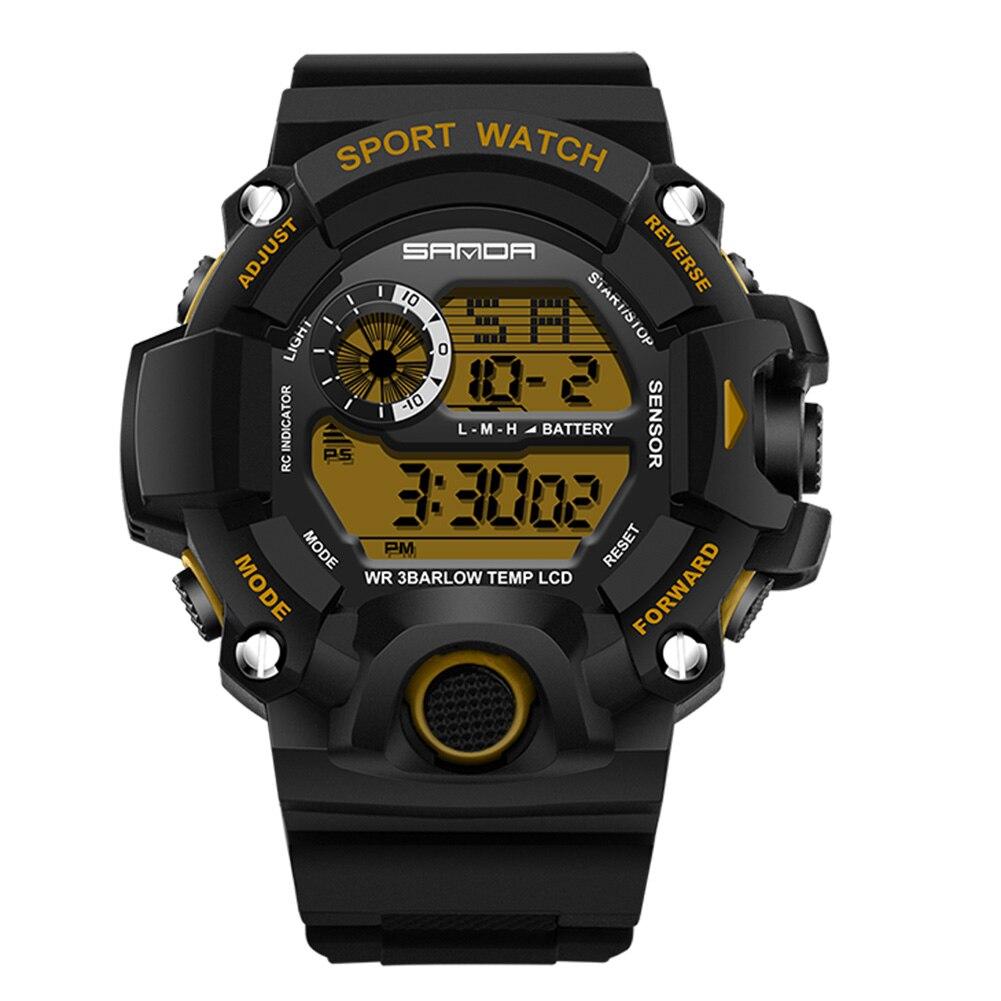 2017 MenTop Luksusowe cyfrowe zegarki Moda elektroniczny zegarek - Męskie zegarki - Zdjęcie 5
