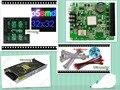 DIY frete grátis LEVOU exibição 20 pcs ao ar livre P5 SMD Full Color Módulo de Led (160*160mm) + RGB controlador + fonte de alimentação