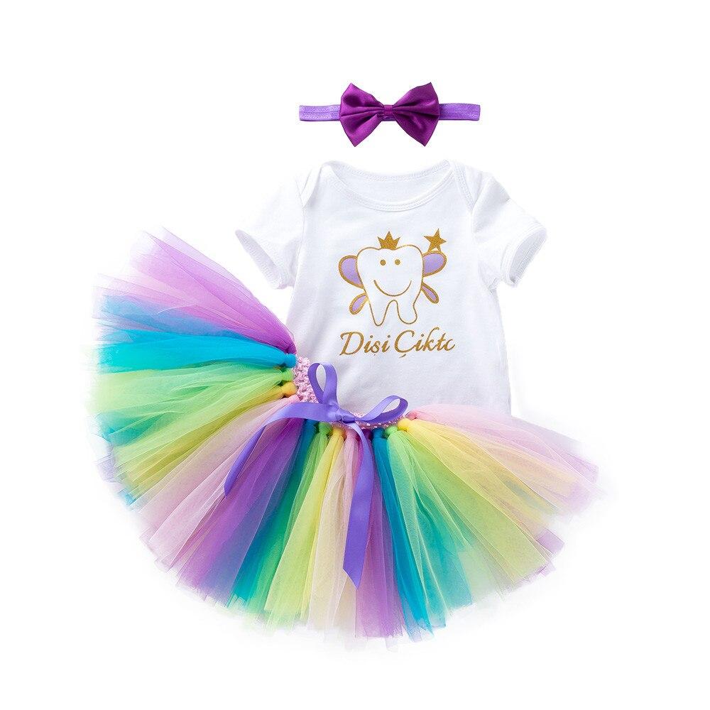 Girl Kid Tutu Skirt Party Dance Ballet Infant Baby Costume Skirt+Bow Hairpin Set