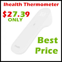 Original Xiaomi Mijia iHealth thermometer Non contact Baby care digital infrared Thermometer with LED screen