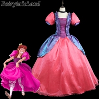 Cinderella Anastasia Drizella cosplay Costume Fancy Halloween costumes for adult Cinderella sisters dress custom made