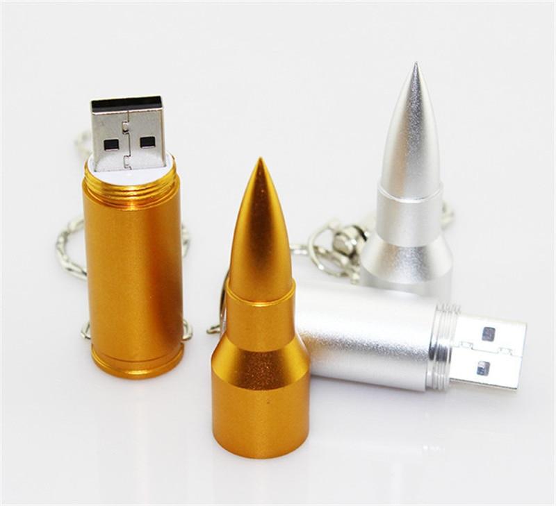 10 шт! Пуля форма U диск 128 МБ 1 Гб 2 ГБ 4 ГБ 8 ГБ 16 ГБ USB флэш-накопитель Флешка металлический USB флэш-накопитель, подарок USB флэш-накопитель