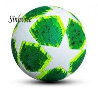 Free Shipping New DesignPU Slip Resistant Standard Size 5 Football Ball Soccer Balls With Logo