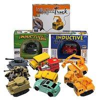 Hot Engineering Vehicles Mini Magic Toy Truck Children S Inductive Truck Toys Figure Tank Car Pen