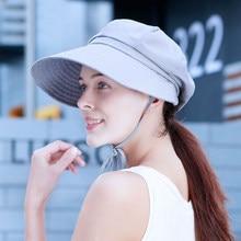 Aggiungi alla Lista dei Desideri. Sedancasesa 2019 Hot Grande Bordo Cappelli  da Sole Per La Donna Pieghevole di Estate Equitazione Cappello 5c4e94012cbc
